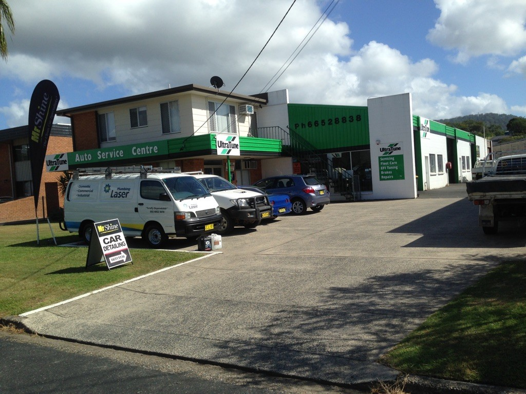 Outside Mr Shine Car Detailing Paint Protection